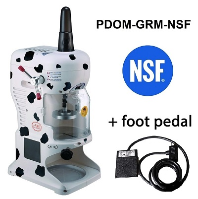 Global Bear NSF and Foot Pedal 3