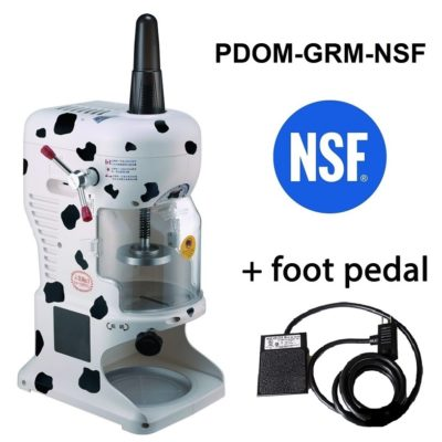 Global Bear NSF and Foot Pedal 2